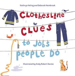Clothesline Clues to Jobs People Do by Kathryn Heling