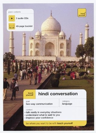 Teach Yourself Hindi Conversation (3cds + Guide)