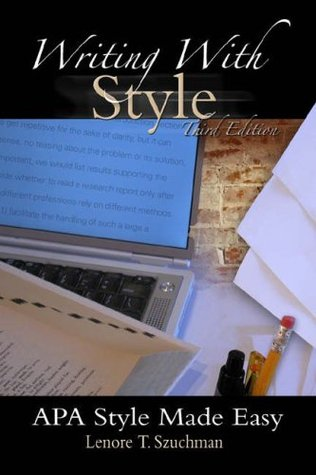 Writing with Style: APA Style Made Easy (with InfoTrac®)