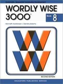 Wordly Wise 3000 Grade 8 Student Book - 2nd Edition