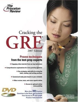 Cracking the GRE with DVD, 2007 Edition (Graduate School Test Preparation)