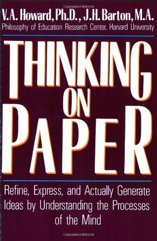 Thinking on Paper by V.A. Howard