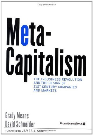 Metacapitalism by Grady E. Means