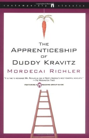 a review of mordecai richlers the apprenticeship of duddy kravitz Mordecai richler was a canadian author, screenwriter and essayist his best known works are the apprenticeship of duddy kravitz (1959) and barney's version (1997) his 1989 novel solomon gursky was here was shortlisted for the man booker prize in 1990.