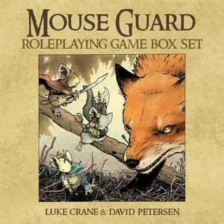 Mouse Guard Roleplaying Game Box Set by Luke Crane