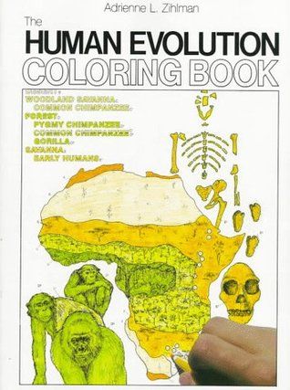 The Human Evolution-Coloring Book