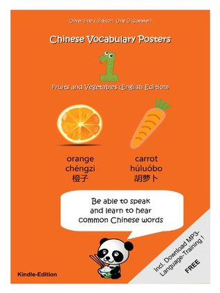 Chinese Vocabulary Posters 1 - Fruits and Vegetables