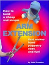 How to Build a Cheap and Simple Arm Extension that Makes Hand Puppetry Easy and Fun!