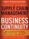 A Supply Chain Management Guide to Business Continuity, Chapter 6: The Business Impact Analysis