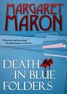 Death in Blue Folders (Sigrid Harald Mystery #3)