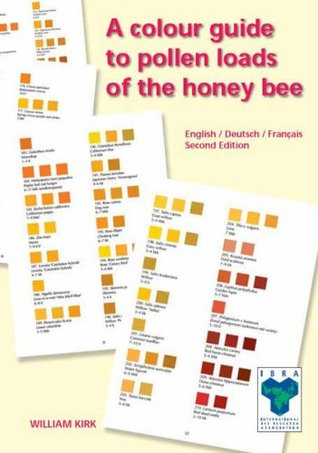 A Colour Guide To Pollen Loads Of The Honey Bee