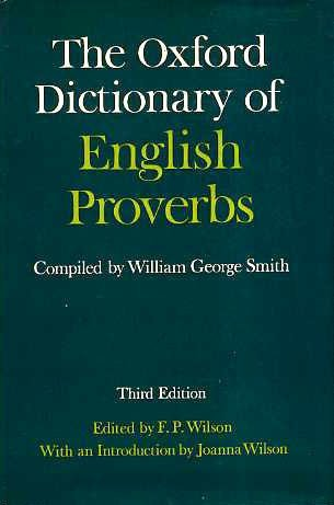 The Oxford Dictionary of English Proverbs