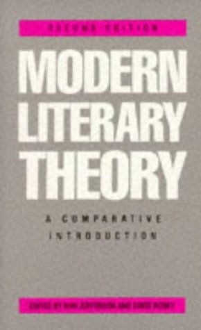 Modern Literary Theory: a Comparative Introduction (2nd edition)