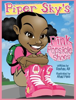 Piper Sky's Pink Popsicle Shoes: Piper Sky The Coach's Daughter
