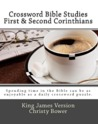 Crossword Bible Studies - First & Second Corinthians by Christy Bower