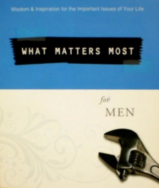 What Matters Most for Men