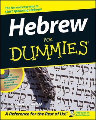 Hebrew for Dummies [With CD] by Jill Suzanne Jacobs
