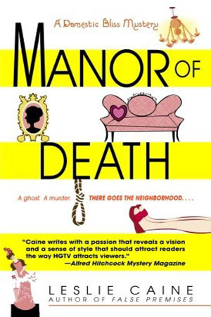 Manor of Death (A Domestic Bliss Mystery #3)