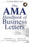 AMA Handbook of Business Letters [With CDROM]