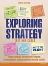 Exploring Strategy: Text & Cases 10th edition