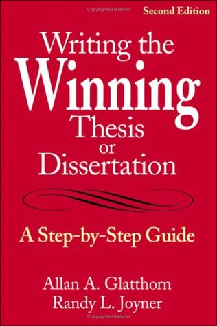 Help with writing a dissertation winning