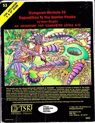 Expedition To The Barrier Peaks by Gary Gygax