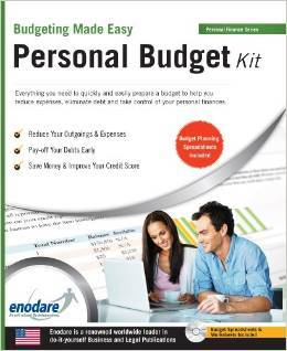 Personal Budget Kit: Including Financial Software