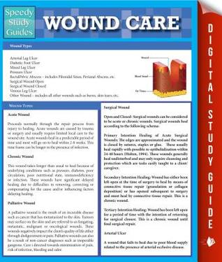 Wound Care (Speedy Study Guides)