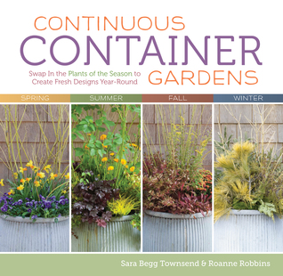 Continuous container gardens swap in the plants of the for Perennial container garden designs