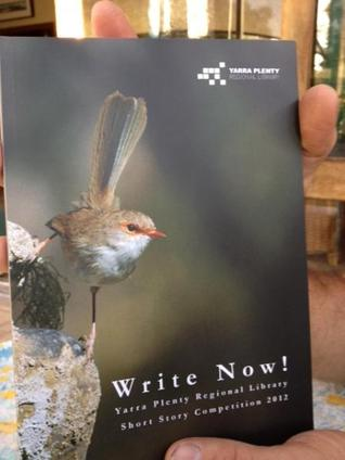 Write Now! YPRL Short Story Competition 2012