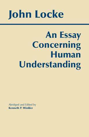 Concerning essay human locke understanding BIT Journal