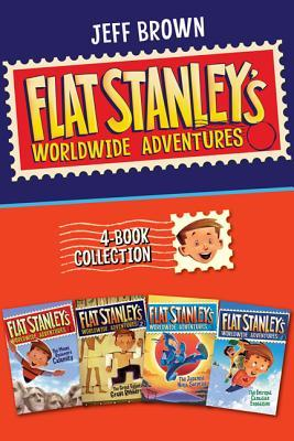 Flat Stanley's Worldwide Adventures 4-Book Collection: The Mount Rushmore Calamity, The Great Egyptian Grave Robbery, The Japanese Ninja Surprise, The Intrepid Canadian Expedition (Flat Stanley's Worldwide Adventures #1-4)