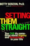 Setting Them Straight by Betty Berzon