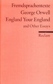 England Your England and Other Essays