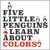 Five Little Penguins Learn About Colors