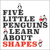 Five Little Penguins Learn About Shapes