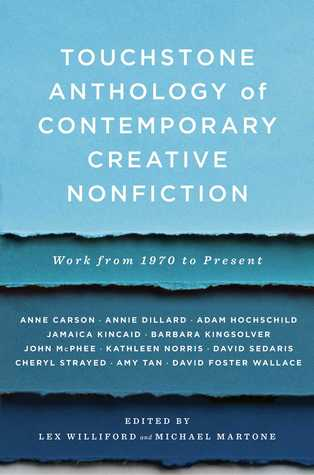 Touchstone Anthology of Contemporary Creative Nonfiction by Lex Williford