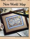 New World Map (Cross Stitch & Country Crafts, #98; 038125)