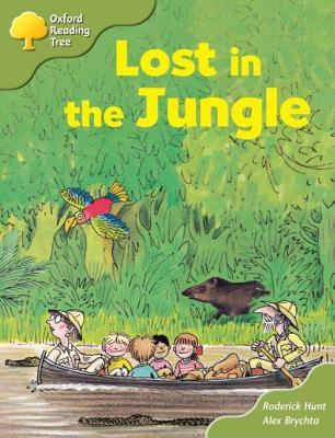 Lost In The Jungle by Roderick Hunt