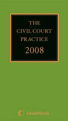 Civil Court Practice (The Green Book)