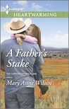 A Father's Stake (Carsons of Wolf Lake #3)
