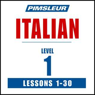 Pimsleur Italian Level 1 MP3: Learn to Speak and Understand Italian with Pimsleur Language Programs