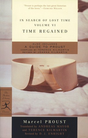 Time Regained (In Search of Lost Time, #7)