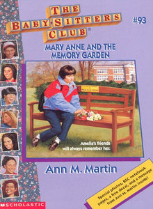 Mary Anne and the Memory Garden by Ann M. Martin