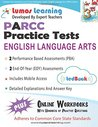Common Core Assessments and Online Workbooks: Grade 3 Language Arts and Literacy, Parcc Edition: Common Core State Standards Aligned