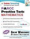 Common Core Assessments and Online Workbooks: Grade 5 Mathematics, Parcc Edition: Common Core State Standards Aligned