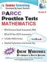Common Core Assessments and Online Workbooks: Grade 6 Mathematics, Parcc Edition: Common Core State Standards Aligned
