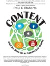 Content and Its Rise in a Connected World