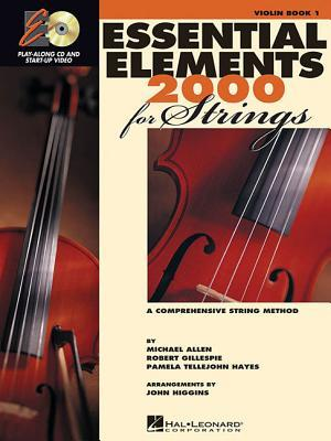 Essential Elements 2000 for Strings Plus DVD: Violin (#1)