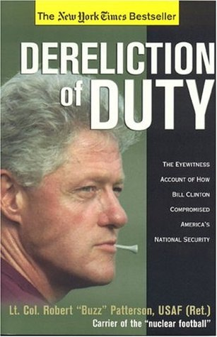 Dereliction of Duty by Robert Patterson